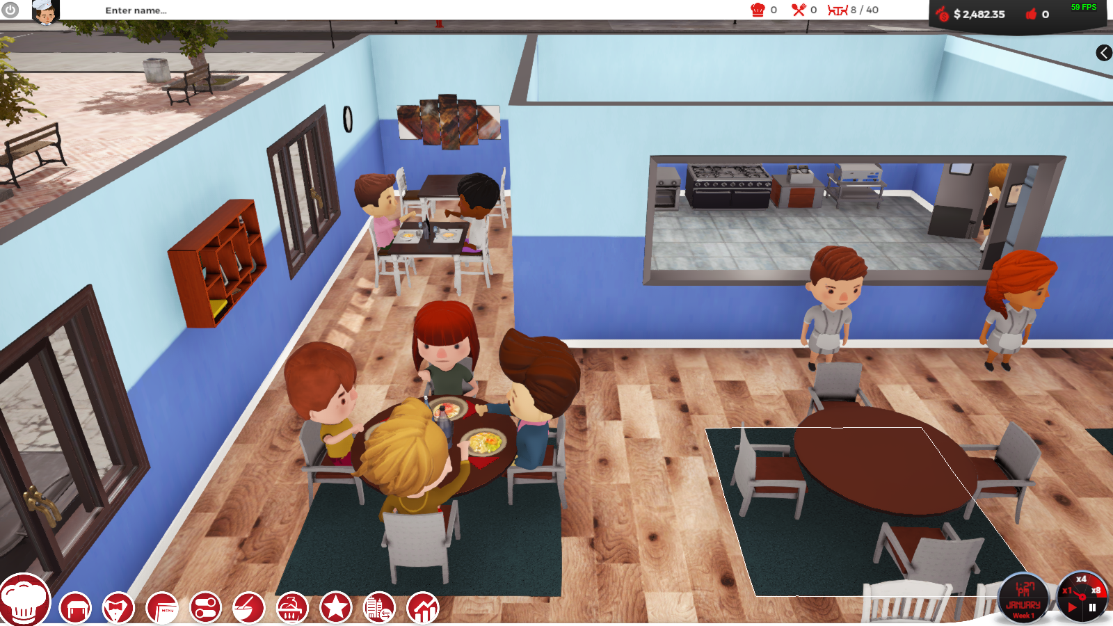 Early Access Look: Chef a Restaurant Tycoon - Gideon's Gaming